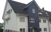 Fassadengestaltung, Fassade, Haus, streichen, Fenster lackieren, Ablaufrohr lackierenhen
